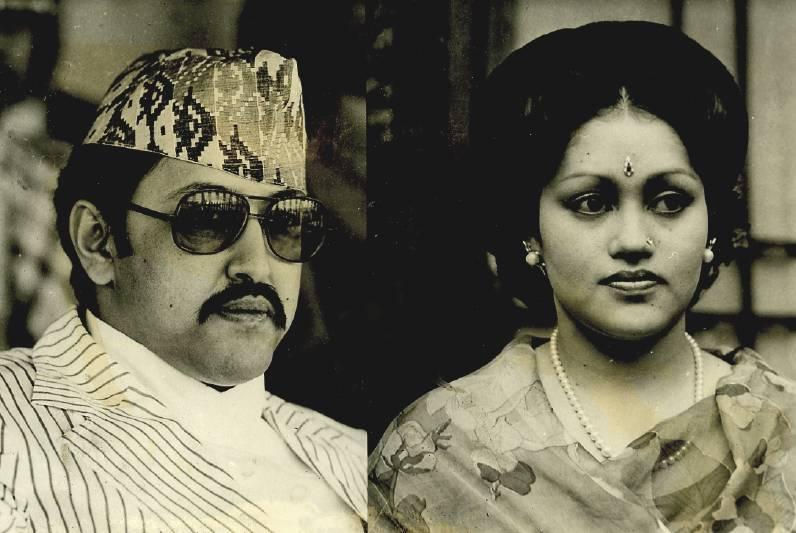 Fotografie von 1979 king birendra bir bikram shah dev und queen