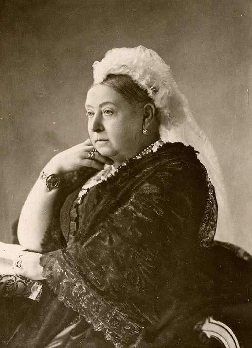 Königin Victoria Jung